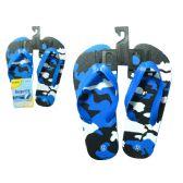 72 Units of Slipper For Boy 3asst size 11-3 - Boys Flip Flops & Sandals