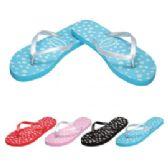 48 Units of Ladies Flip Flaps--Little Flowers - Women's Flip Flops