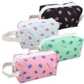 48 Units of Cosmetic Bag Assorted Colors