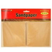 72 Units of 30CT ASSORTED SAND PAPER
