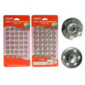 288 Units of Snap Fastener 35pc - Sewing Supplies