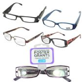 100 Units of Foster Grant Reading Glasses Medium - Reading Glasses
