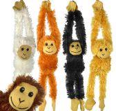 60 Units of Plush Hanging Monkeys - Plush Toys