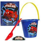 24 Units of MARVEL'S SPIDERMAN SAND PAIL & SHOVEL SETS. - Beach Toys