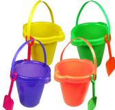 24 Units of SAND PAIL AND SHOVEL SETS - Beach Toys