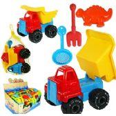 40 Units of 4 PIECE DUMP TRUCK SAND PLAYSETS - Beach Toys