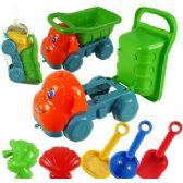 48 Units of 6 PIECE TOY DUMP TRUCKS & SAND TOYS - Beach Toys
