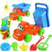 36 Units of 6 PIECE TOY DUMP TRUCKS & SAND TOYS - Beach Toys