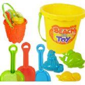 24 Units of 7 PIECE SAND PAIL SETS. - Beach Toys