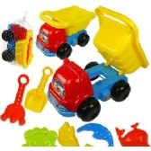 18 Units of 7 PIECE DUMP TRUCK AND SAND TOYS - Beach Toys