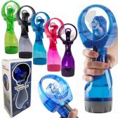 30 Units of BATTERY OPERATED WATER MISTING FANS - Spray Bottles