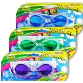 36 Units of TINTED PANORAMIC SWIM GOGGLES. - Summer Toys