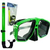 24 Units of SCUBA MASK AND SNORKEL SETS - Beach Toys