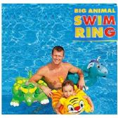 24 Units of ANIMAL SWIM RINGS. - Inflatables