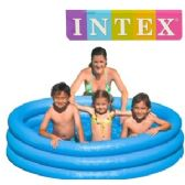 9 Units of LARGE INFLATABLE CRYSTAL BLUE POOLS - Inflatables