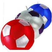 60 Units of INFLATABLE MESH SOCCER BALLS. - Beach Toys