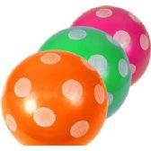 300 Units of INFLATABLE POLKA DOT BALLS - Beach Toys
