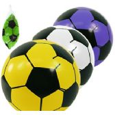 120 Units of INFLATABLE SOCCER BALLS. - Beach Toys
