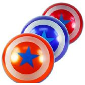 192 Units of STARS AND STRIPES INFLATABLE BALLS - Beach Toys