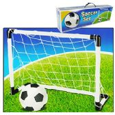 6 Units of SOCCER GOAL AND BALL SETS - Summer Toys