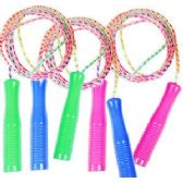 120 Units of NEON JUMP ROPES