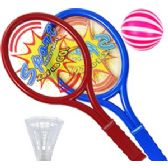 24 Units of SPORTS RAQUET PLAY SETS - Summer Toys