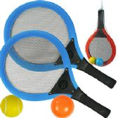 8 Units of MESH PADDLE BALL SETS - Summer Toys