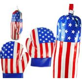 8 Units of CHILD'S STARS AND STRIPES BOXING SETS - Summer Toys