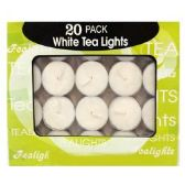 48 Units of 20 PACK TEA LIGHT CANDLES