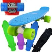 6 Units of COMPLETE PLASTIC & METAL SKATEBOARDS. - Summer Toys