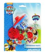 24 Units of NICKELODEON'S PAW PATROL SPINNING TOPS - Novelty Toys