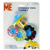 24 Units of DESPICABLE ME 2 SPINNING TOPS - Novelty Toys
