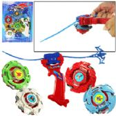 48 Units of 4 PIECE SPIN GEAR TOPS. - Novelty Toys