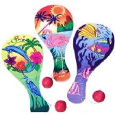 144 Units of LUAU PADDLE BALLS