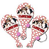 144 Units of PUPPY LOVE PADDLE BALLS