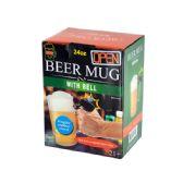 12 Units of Novelty Beer Mug with Bell - Coffee Mugs