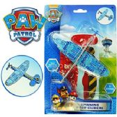 24 Units of 2 PIECE NICKELODEON'S PAW PATROL SPINNING PROP GLIDERS - Cars, Planes, Trains & Bikes