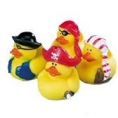 288 Units of VINYL PIRATE RUBBER DUCKYS. - Summer Toys