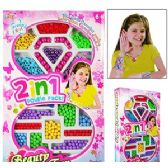 24 Units of PRETTY GIRL JEWELRY BEADING KITS.