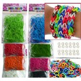 192 Units of 12 ASSORTED SOLID COLOR D.I.Y. LOOM BANDS - Craft Kits