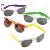 192 Units of NEON-COLORED SUNGLASSES. - Kids Sunglasses