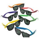 144 Units of ANIMAL PRINT SUNGLASSES - Kids Sunglasses