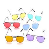 192 Units of CRYSTAL COLOR SUNGLASSES. - Kids Sunglasses