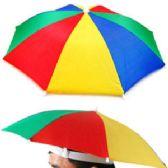 48 Units of ADULT UMBRELLA HAT - Umbrellas & Rain Gear