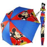 24 Units of DISNEY'S MICKEY MOUSE UMBRELLA - Umbrellas & Rain Gear