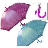 36 Units of KID'S POLKA DOT UMBRELLAS W/WHISTLE. - Umbrellas & Rain Gear