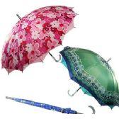 24 Units of WOMEN'S DOUBLE CANOPY UMBRELLAS - Umbrellas & Rain Gear