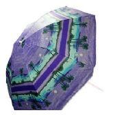 12 Units of TROPICAL PRINT BEACH UMBRELLAS - Umbrellas & Rain Gear
