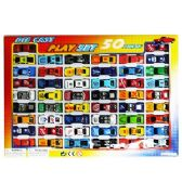 12 Units of 50 PIECE DIE CAST CAR PLAYSETS. - Cars, Planes, Trains & Bikes
