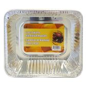100 Units of Wholesale 2 PK HALF SHEET ALUMINUM TRAYS - Baking Pans/Aluminum Pans